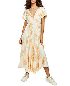 Laura Printed Maxi Dress