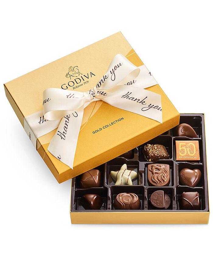 Godiva - 19-Pc. Thank You Gold Gift Box