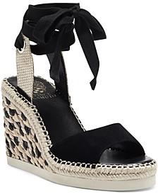 Women's Bendsen Ankle-Wrap Wedge Sandals