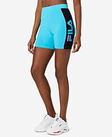 Women's Colorblocked Bike Shorts