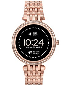 Access Gen 5e Darci Rose Gold-Tone Stainless Steel Smartwatch 43mm
