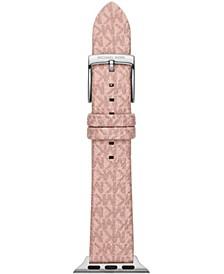 Micro Logo Blush PVC 38/40mm Apple Watch® Band