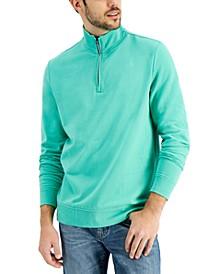 Men's 1/4-Zip Sweatshirt, Created for Macy's