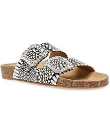 Somers Gemstone Footbed Sandals