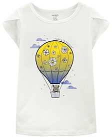 Big Girls Hot Air Balloon Jersey Tee