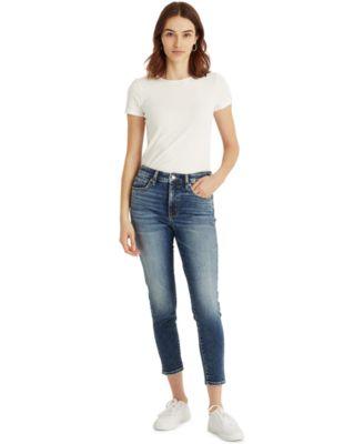 로렌 랄프로렌 Lauren Ralph Lauren High-Rise Cropped Jeans