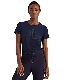 Sequined Logo T-Shirt