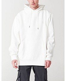 Men's Authentic Fleece Hooded Sweater with Pouch Pocket