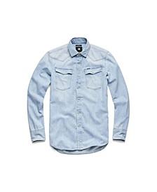 Men's Long Sleeve Slim Shirt