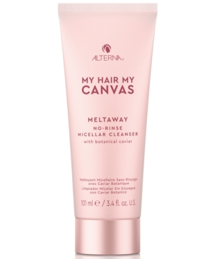 My Hair My Canvas Meltaway No-Rinse Micellar Cleanser