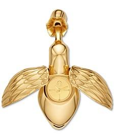 Women's Hummingbird Gold-Tone Stainless Steel Bracelet Watch 29mm