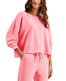 Super Soft Crew Sleep Top, Created for Macy's