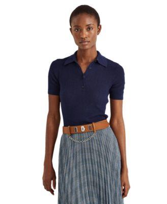 로렌 랄프로렌 Lauren Ralph Lauren Short Sleeve Polo Shirt