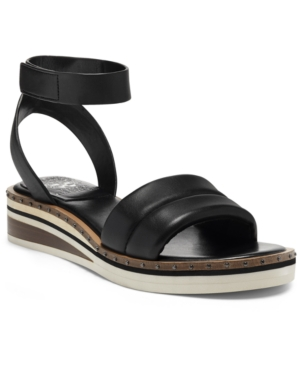 Vince Camuto Wedges WOMEN'S MELLIENDA PUFFY SANDALS, CREATED FOR MACY'S WOMEN'S SHOES