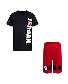Jumpman Little Boys T-shirt and Short Set