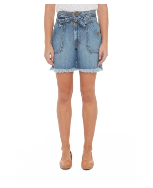 Women's High-Rise Denim Shorts