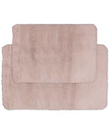 2-Pc. Faux-Fur Memory Foam Bath Rug Set