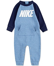 Baby Boys Waffle Thermal Coverall