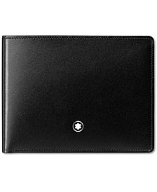 Montblanc Men's Black Leather Meisterstück Wallet 14548