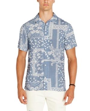 Men's Safiv Paisley Shirt