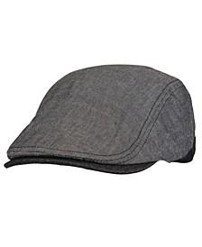 Men's Flat Top Adjustable Ivy Hat