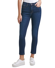 High-Rise Ankle Jeans