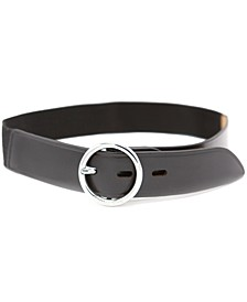 Women's Elastic Stretch Leather Belt