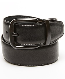 Men's Grey Day Logo Reversible Belt