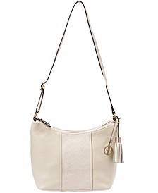 Pebble Leather Weave Hobo, Created for Macy's