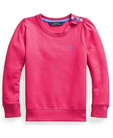 Little Girls Fleece Sweatshirt