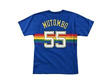 Denver Nuggets Men's Hardwood HD Print Player T-Shirt - Dikembe Mutombo