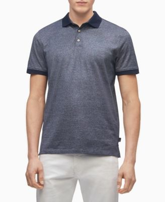 Men's Liquid Touch Pattern Polo Shirt