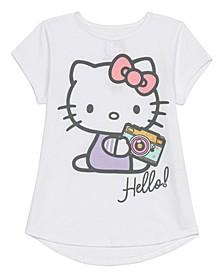 Little Girls Hello Kitty Camera Tee