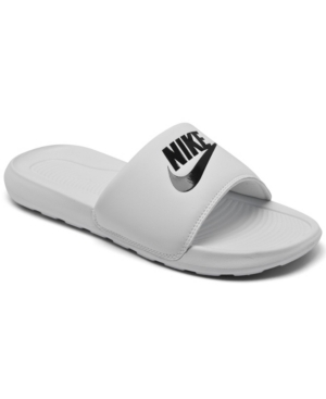 NIKE WOMEN'S VICTORI ONE SLIDE SANDALS FROM FINISH LINE