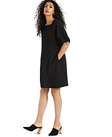 Cinch-Sleeve Dress, Created for Macy's