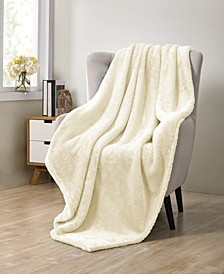 Avery Pure Plush Throw Blanket