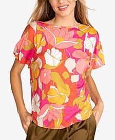 Allisa Floral-Print Top