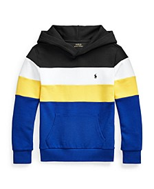 Big Boys Color Blocked Double Knit Hoodie