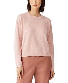 Organic Crewneck Boxy Sweater