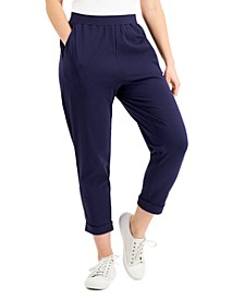 Cropped Slouch Pants