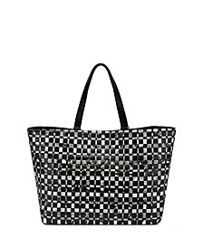 INC Michaelaa Woven Tote, Created for Macy's