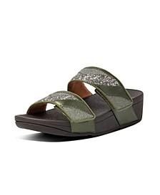 Women's Mina Ombre Glitter Slides