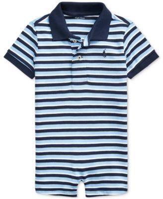 폴로 랄프로렌 Polo Ralph Lauren Baby Boys Striped Shortall