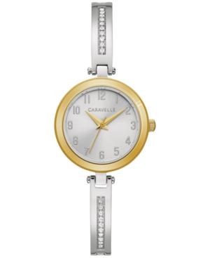 Women's Stainless Steel & Crystal Bangle Bracelet Watch 26mm