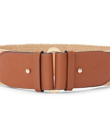 Women's Straw Stretch Belt