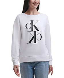 Logo Print Long-Sleeve Top