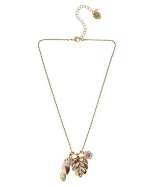 Parrot Charm Necklace