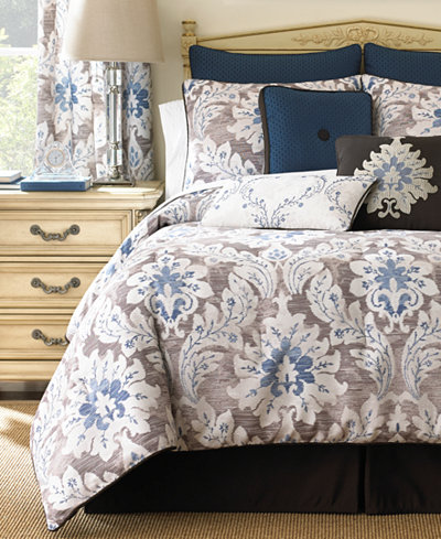 CLOSEOUT! Waterford Emerson Comforter Sets - Bedding Collections ...