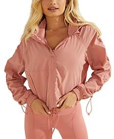 Bungee-Sleeve Angi Wind Jacket