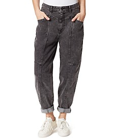 Seamed Baggy Jeans